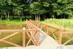 Nikronio sodyba prie Sieniaus ežero:pokylių salė,pirtis,žūklė,pramogos