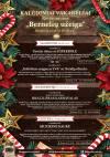 """Restoranų """"Bernelių užeiga"""" Kalėdiniai renginiai"""