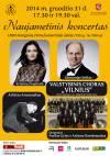 Naujametinis koncertais su K. ir E. Seiliais, A. Anusausku ir valstybiniu choru VILNIUS