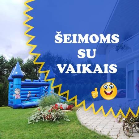 SAULĖS VILA  - geriausia vieta atostogoms šeimai su vaikais!