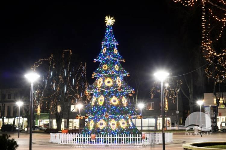 Šv. Kalėdų eglės įžiebimas Palangoje 2017 gruodžio 2 d.